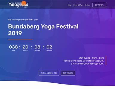 Yoga Festival website