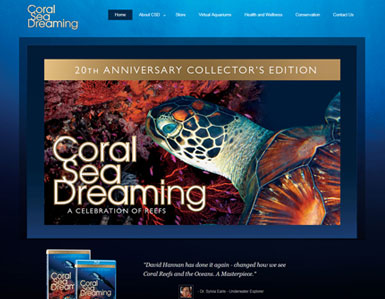 Coral Sea Dreaming - website
