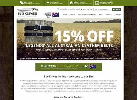 Online Shop - website design