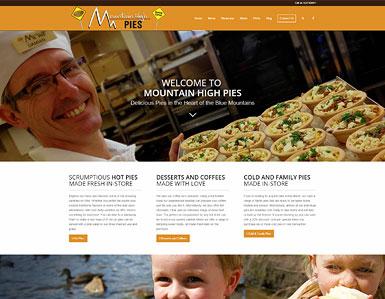 Cafe & bakery website
