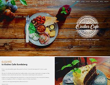 Cafe Website - Oodies Cafe Bundaberg