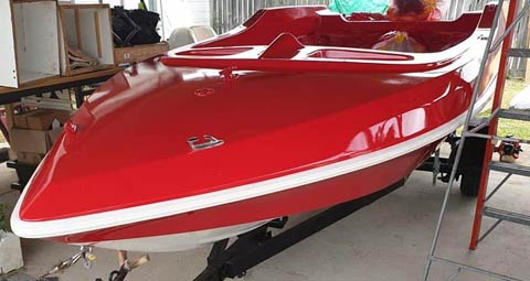 Pride Cheetah Ski Boat - restore