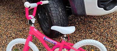 Kids Pushbike custom restore and custom repaint