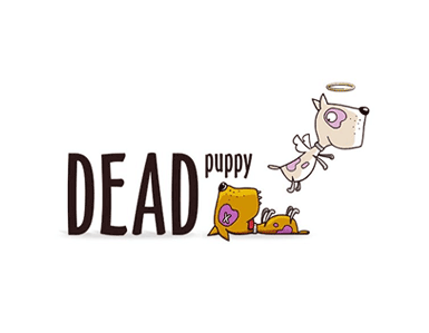 Dead Puppy - logo design