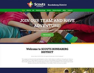 Scouts website