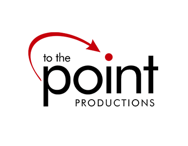 To The Point Productions - logo design